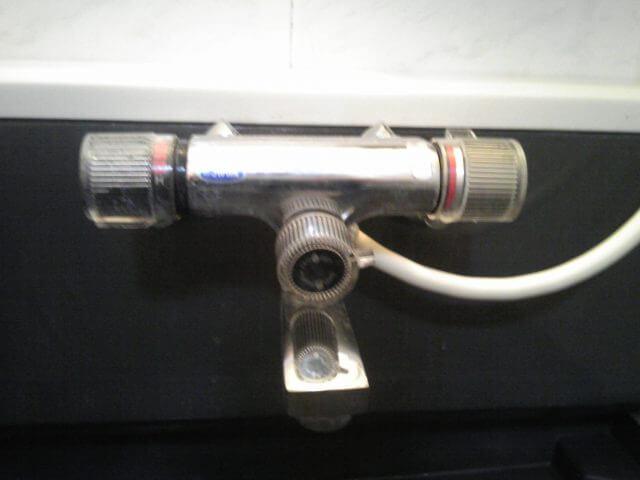 混合栓の交換 施工前