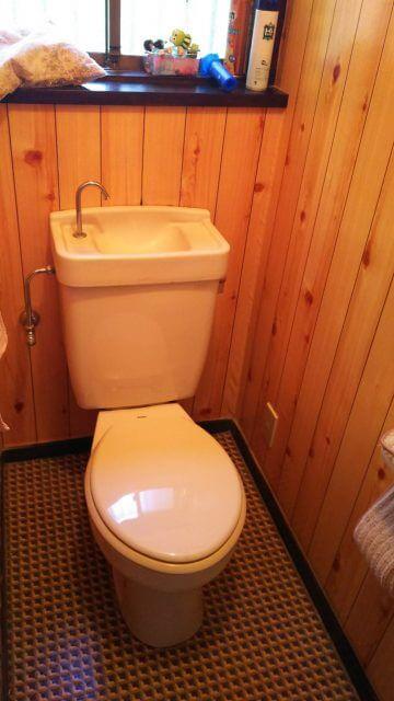 トイレ便器の交換 施工前
